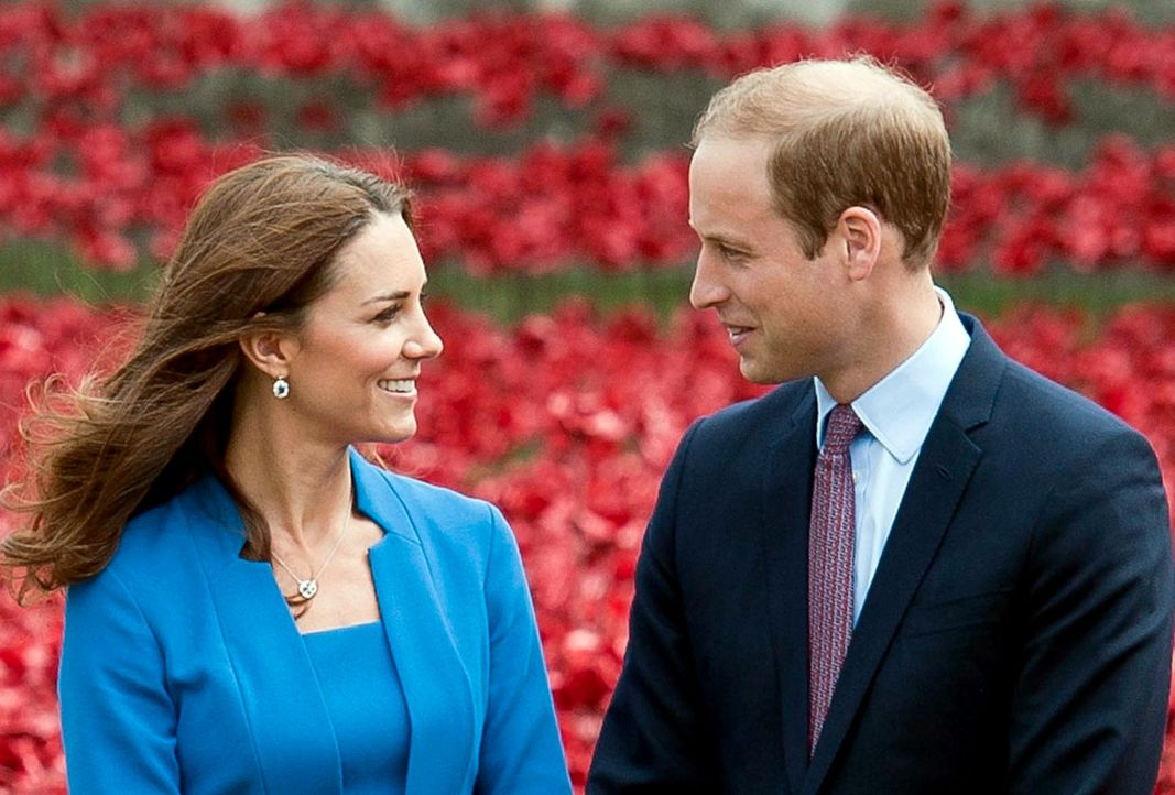 prinz-william-kate-140805-dpa - Bildquelle: dpa