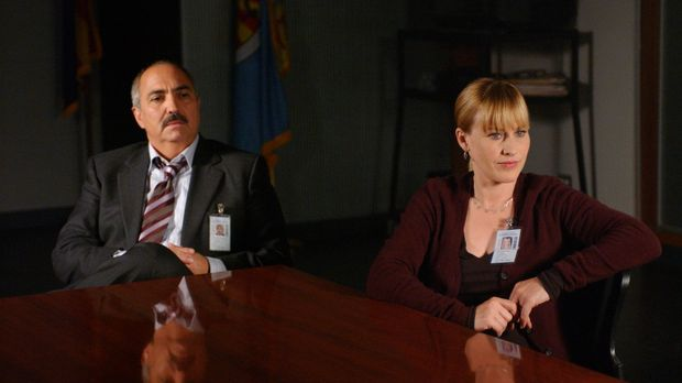 Allison (Patricia Arquette, r.) will dem Staatsanwalt Devalos (Miguel Sandova...