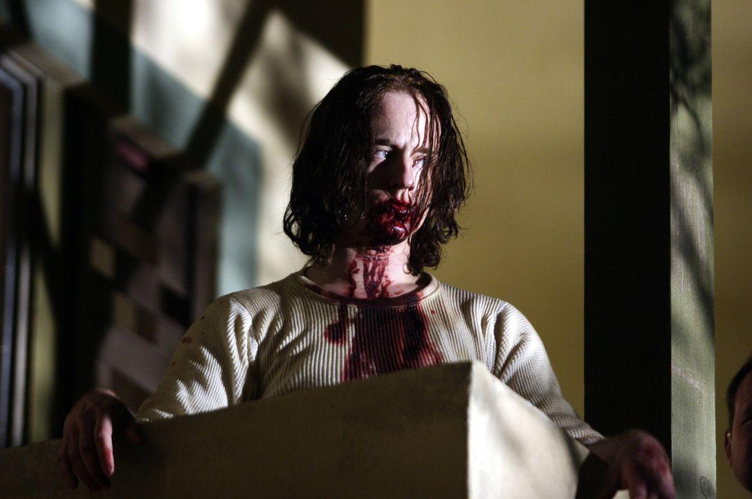 Der brutale Mars Krupcheck (Ben Foster) schreckt vor nichts zurück - auch nicht vor Mord ... - Bildquelle: 2004 Hostage, LLC. All Rights Reserved