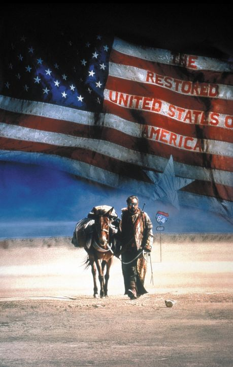 Der Nordwesten der USA im Jahre 2013: Ungewollt gibt der Postman (Kevin Costner) den Menschen nach einem verheerenden Krieg Hoffnung und ihren Wille... - Bildquelle: Warner Bros. Pictures