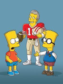 Die Simpsons - Bart (l.) trifft seinen Doppelgänger Simon Woosterfield (r.) u...