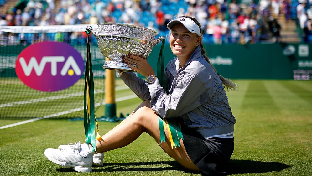 Caroline Wozniacki ist vor Wimbledon in guter Form - Bildquelle: Getty Images 2018