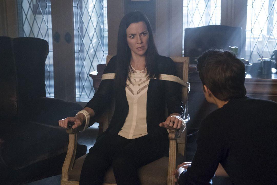 Ein altes Geheimnis lässt Stefan (Paul Wesley, r.) daran zweifeln, ob Lily (Annie Wersching, l.) wirklich so böse ist, wie er angenommen hatte ... - Bildquelle: Warner Bros. Entertainment, Inc.