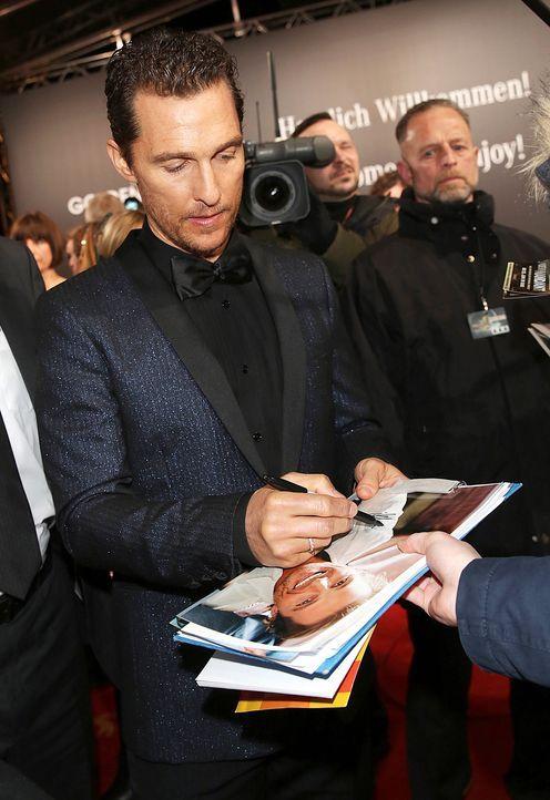 Goldene-Kamera-Matthew-McConaughey-140201-dpa - Bildquelle: dpa