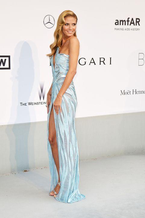 Cannes-Filmfestival-amfAR-Heidi-Klum-140522-AFP - Bildquelle: AFP
