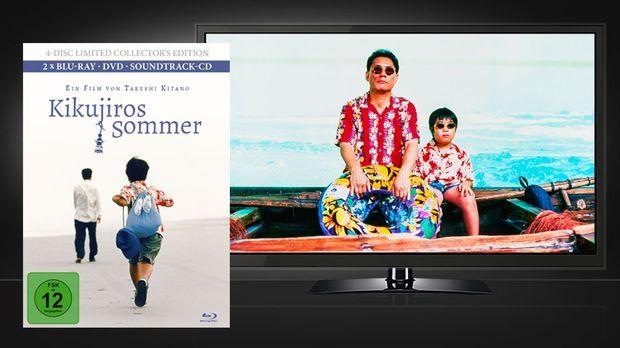 Kikujiros Sommer - Mediabook und Szene © Capelight Pictures