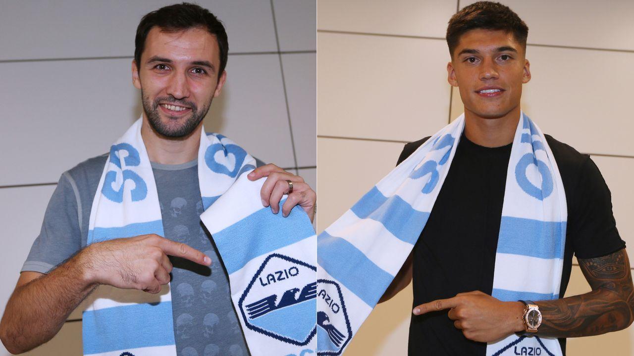 Milan Badelj und Joaquin Correa (Zugänge Lazio Rom) - Bildquelle: Getty Images