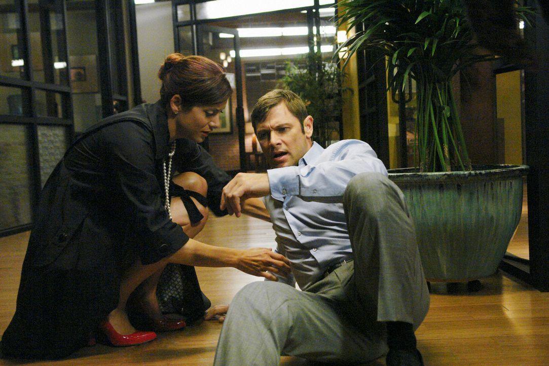 Archer (Grant Show, r.), Addisons (Kate Walsh, l.) Bruder, stattet ihr einen Überraschungsbesuch ab und sorgt dabei für mächtig Ärger ... - Bildquelle: ABC Studios