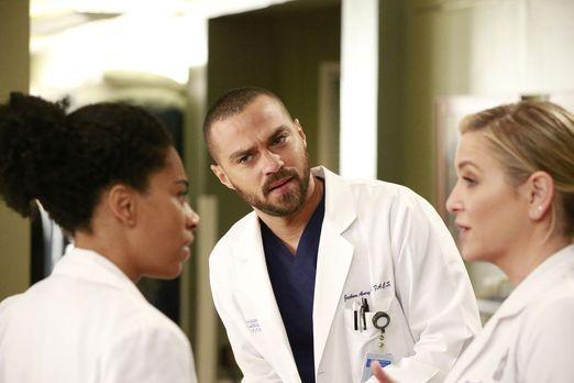 Grey's Anatomy - Sind mit einer Entscheidung von Bailey nicht zufrieden: Jack...