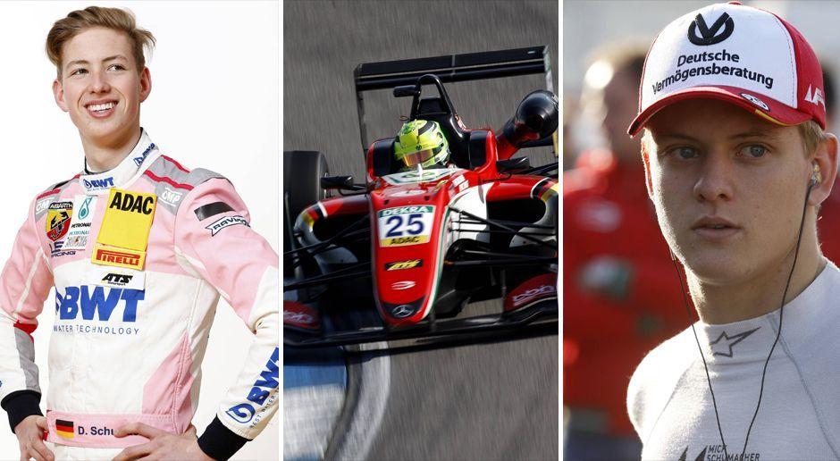 Schumacher-Cousins, Talente-Schau: Die Rahmenserien der DTM - Bildquelle: Imago