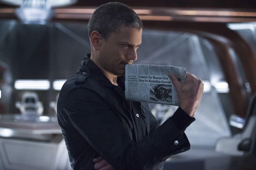 Seine diebische Ader bringt Snart (Wentworth Miller) und die Zukunft erneut in Schwierigkeiten ... - Bildquelle: 2015 Warner Bros.