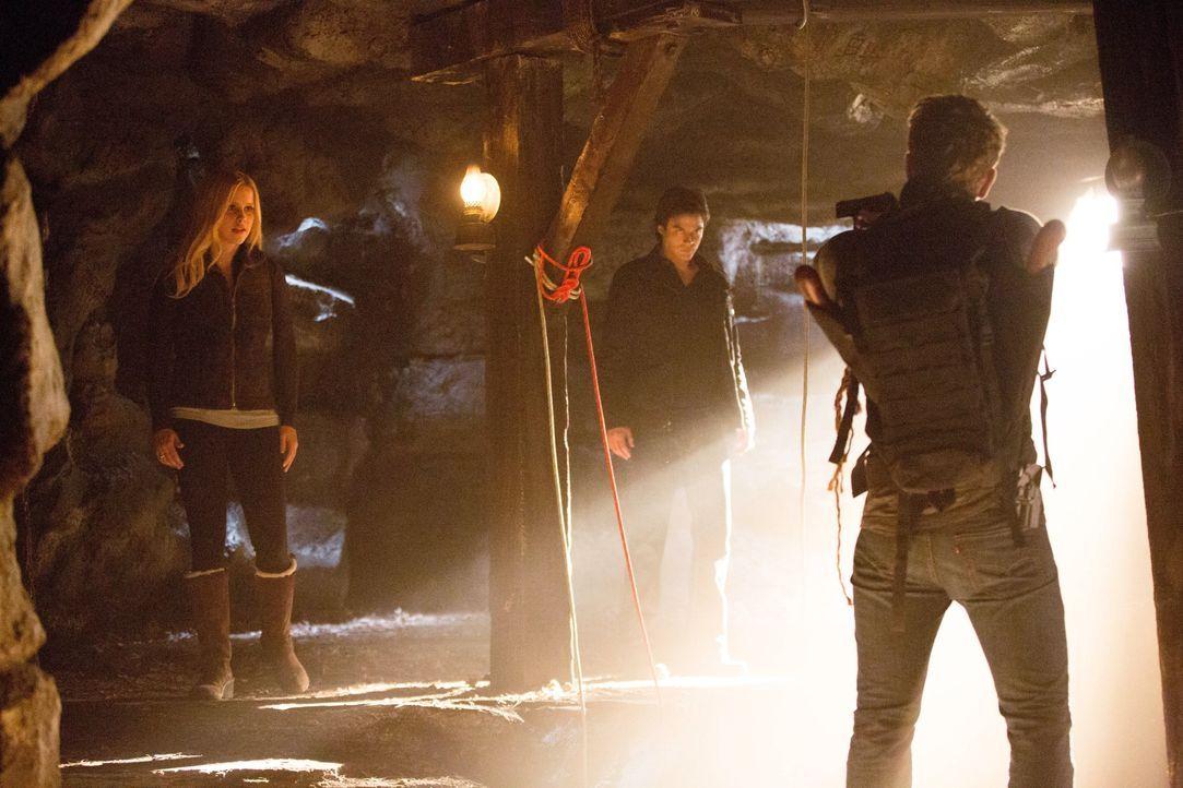 Rebekah Mikaelson, Damon Salvatore und Vaughn - Bildquelle: Warner Bros. Entertainment Inc.