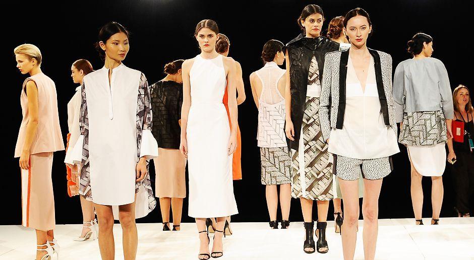 Fashionweek-NY-Alisar-Ailabouni-Brandon-Sun-Presentation-13-09-11-AFP - Bildquelle: AFP
