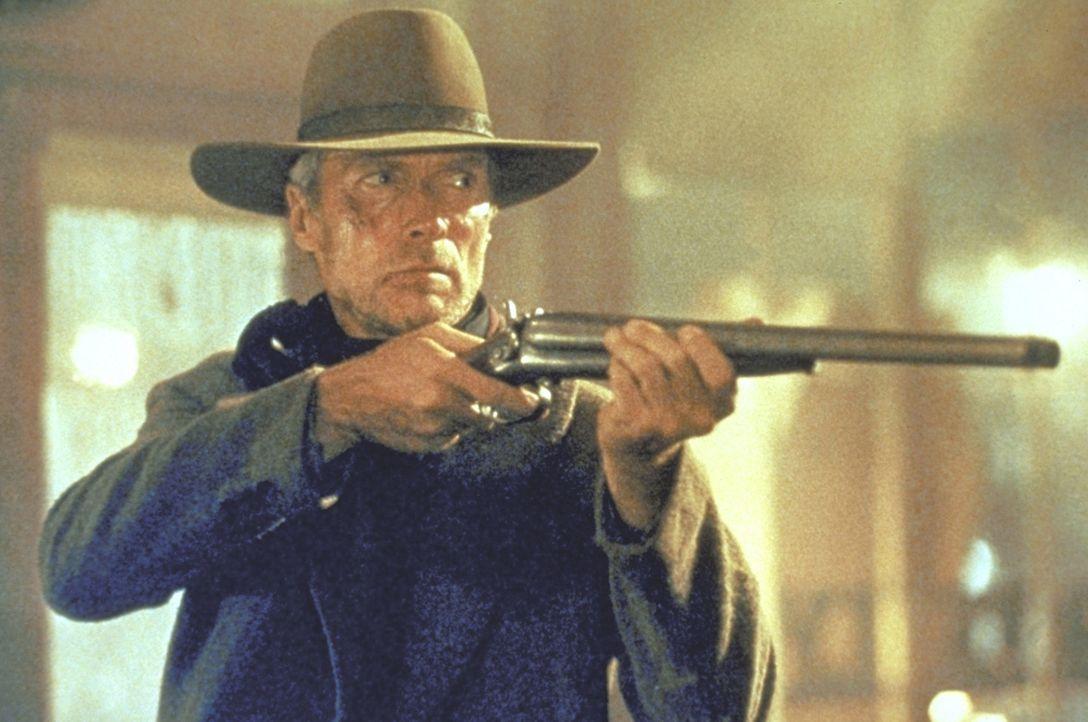 Nach dem Tod seiner Frau wird William Munny (Clint Eastwood) von seiner Vergangenheit eingeholt ... - Bildquelle: Warner Bros.