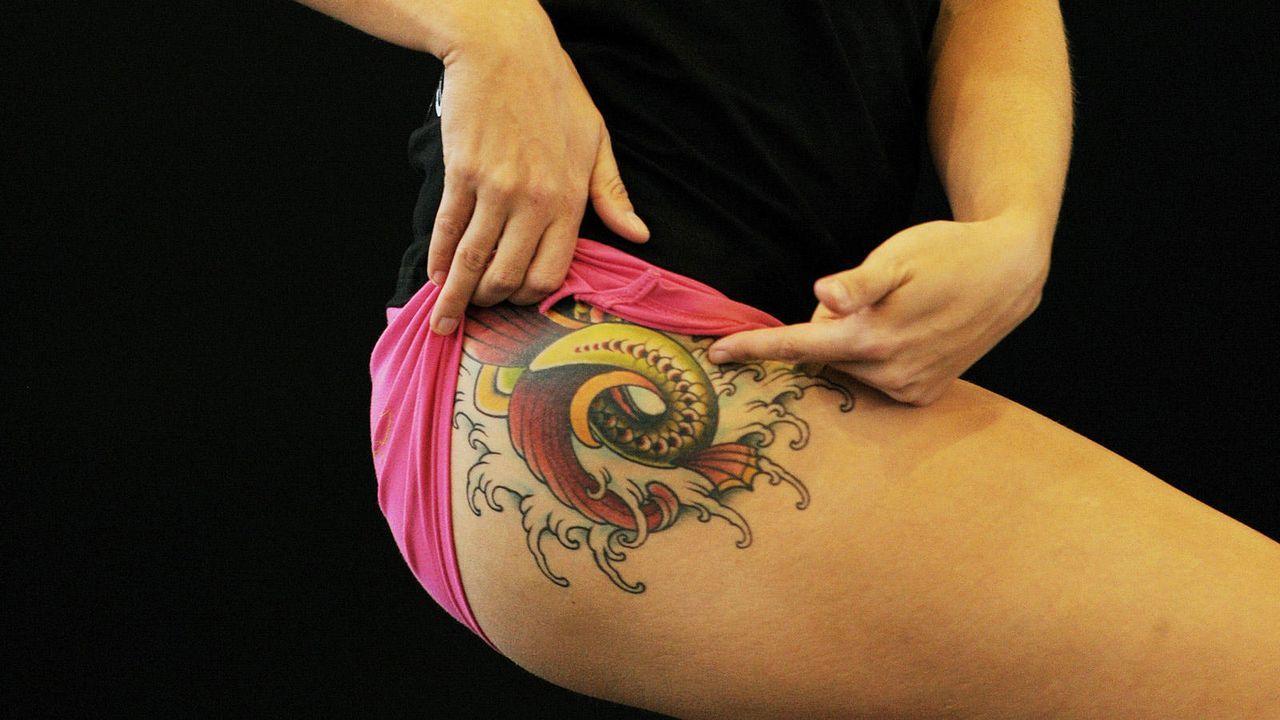 Sexy Tattoos - Bildquelle: AFP