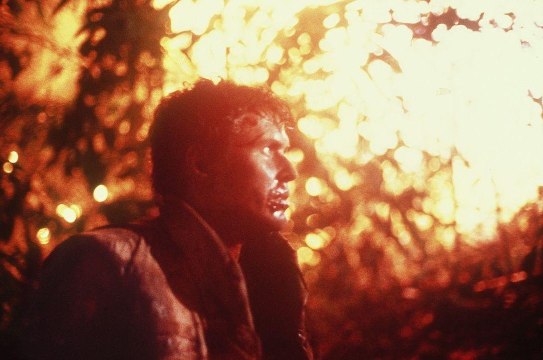 Im Laufe der unbarmherzigen Kämpfe stellt der Kriegsfreiwillige Chris Taylor (Charlie Sheen) seinen Einsatz immer mehr infrage ... - Bildquelle: Orion Pictures Corporation