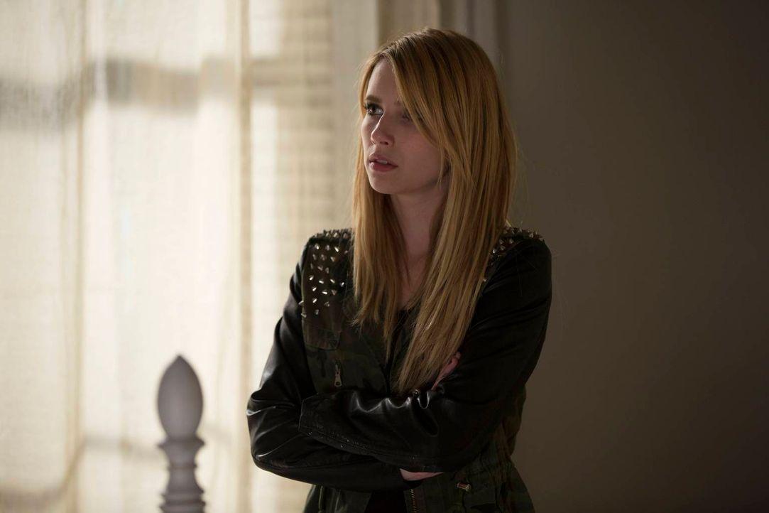 Ist Madison (Emma Roberts) wirklich so gefühlskalt, wie sie immer tut? - Bildquelle: 2013-2014 Fox and its related entities. All rights reserved.