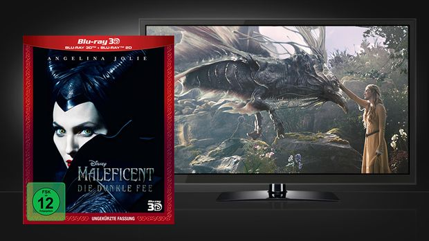 Maleficent - 3D Blu-ray und Szene © Walt Disney Studios Home Entertainment