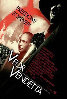 V wie Vendetta - Vendetta (Hugo Weaving, r.) ist ein maskierter Freiheitskämp...