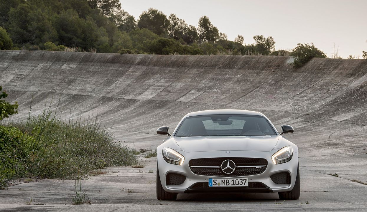 Mercedes AMG GT (6) - Bildquelle: press photo, do not use for advertising purposes