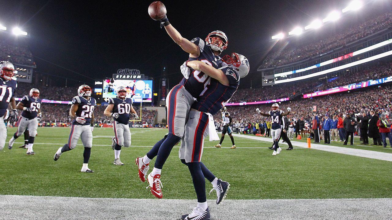 Seit sieben Jahren stehen die Patriots stets im AFC Championship Game - Bildquelle: 2018 Getty Images