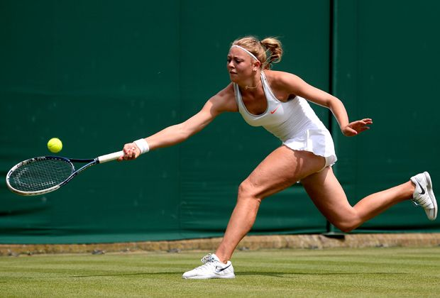 Carina Witthöft: die deutsche Tennis-Hoffnung - Bildquelle: 2013 Getty Images