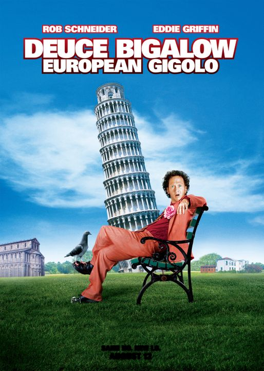 DEUCE BIGALOW: EUROPEAN GIGOLO - Plakatmotiv - Bildquelle: 2005 Columbia Pictures Industries, Inc.  All Rights Reserved.