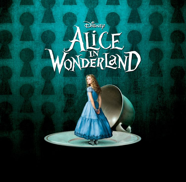 """Alice im Wunderland"" - Plakatmotiv - Bildquelle: Leah Gallo Disney Enterprises, Inc. All rights reserved"