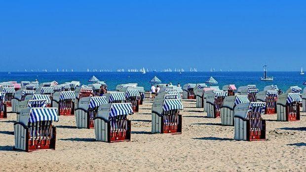 Strandkörbe-Ostsee