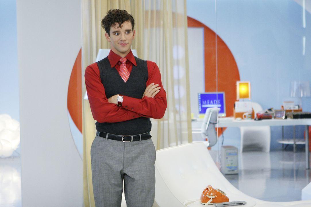 Marc (Michael Urie) ist auf Wilhelminas Seite ... - Bildquelle: Buena Vista International Television