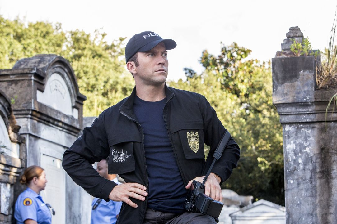 Ermittelt in einem neuen Mordfall: Lasalle (Lucas Black) ... - Bildquelle: 2014 CBS Broadcasting Inc. All Rights Reserved.