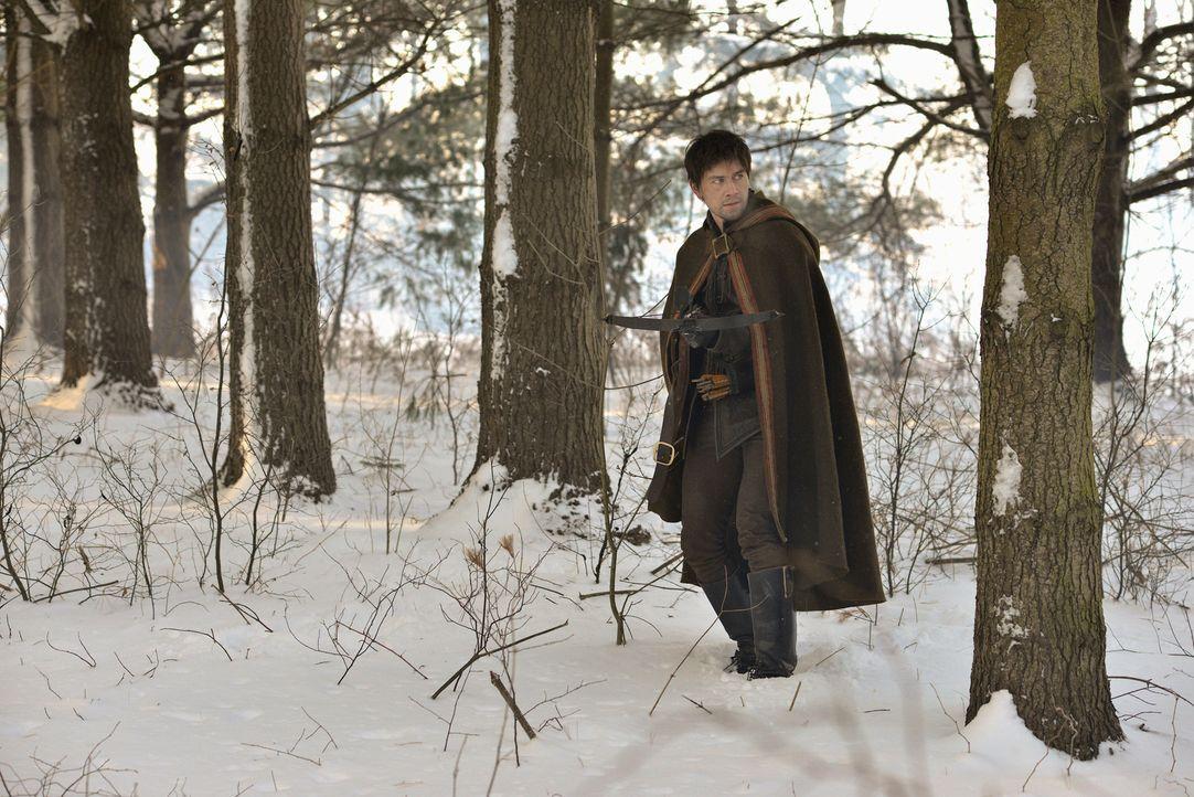 Während Mary und Francis ihre Flitterwochen genießen, flüchtet sich Bash (Torrance Coombs), der Mary noch immer liebt, in die Wälder ... - Bildquelle: Sven Frenzel 2013 The CW Network, LLC. All rights reserved.
