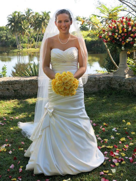 Auch Rebecca möchte die perfekte Hochzeit feiern und die traumhafte Hochzeitsreise gewinnen ... - Bildquelle: Richard Vagg DCL