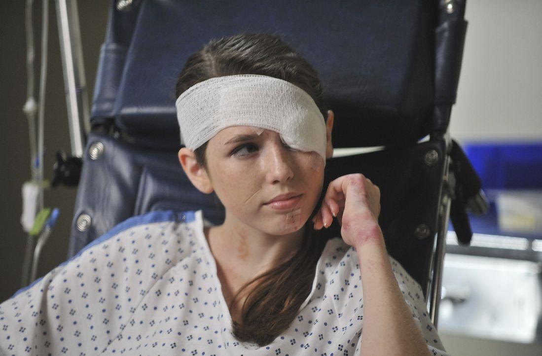 Ahnt noch nicht, dass ihre Eltern bei einem Autounfall ums Leben gekommen sind: Abby (Saige Ryan Campbell) ... - Bildquelle: ABC Studios