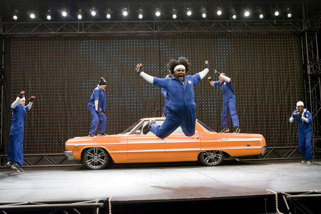 Ausgefallene Choreographie ... - Bildquelle: Paramount Pictures