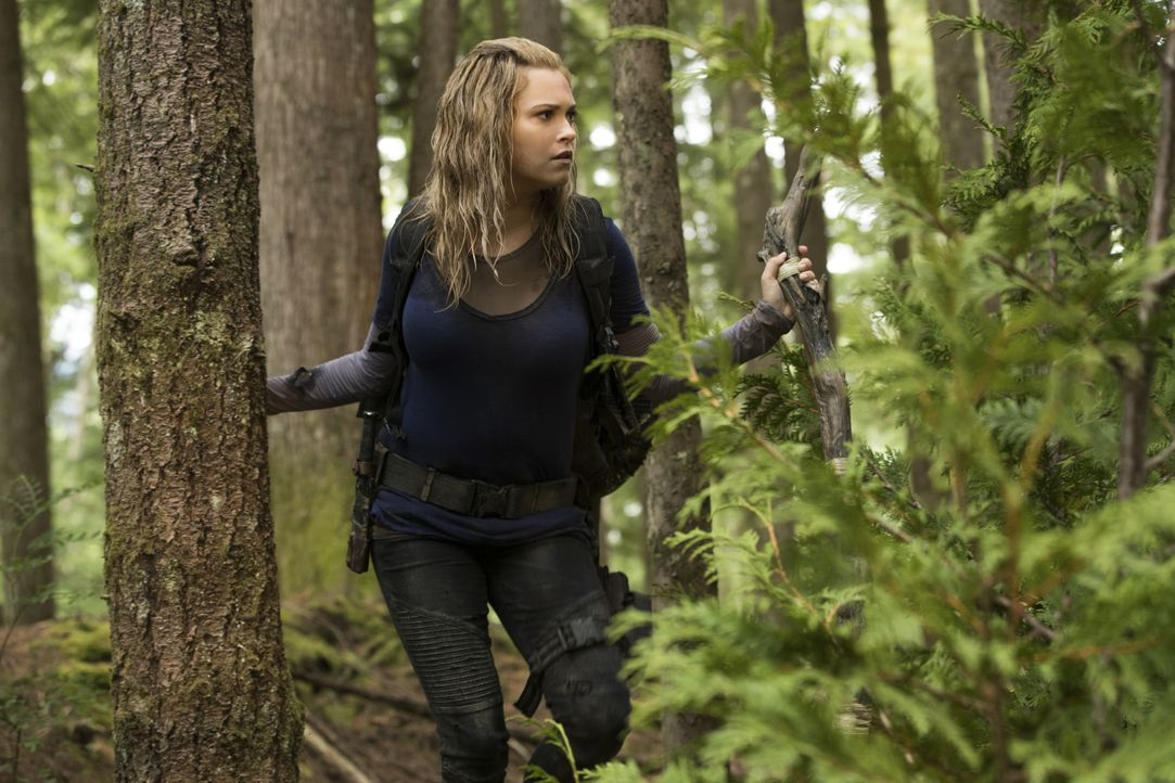Clarke Griffin (Eliza Taylor) - Bildquelle: Jack Rowand 2018 The CW Network, LLC. All rights reserved./Jack Rowand