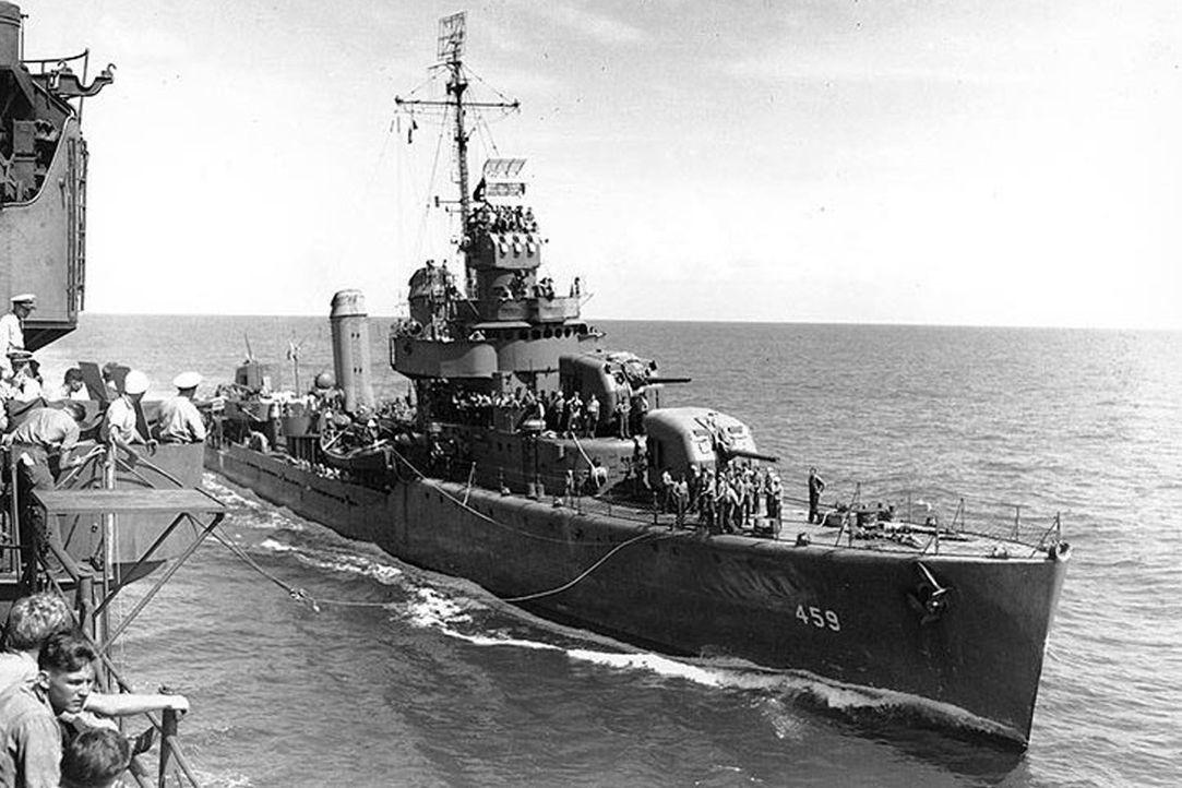 """Das """"unsinkbare Schiff der US Navy"""": Die """"USS Laffey"""" ist der letzte verbliebene Zerstörer, der auf einen Einsatz während des Zweiten Weltkrieges in... - Bildquelle: Lou Reda Productions, Inc"""