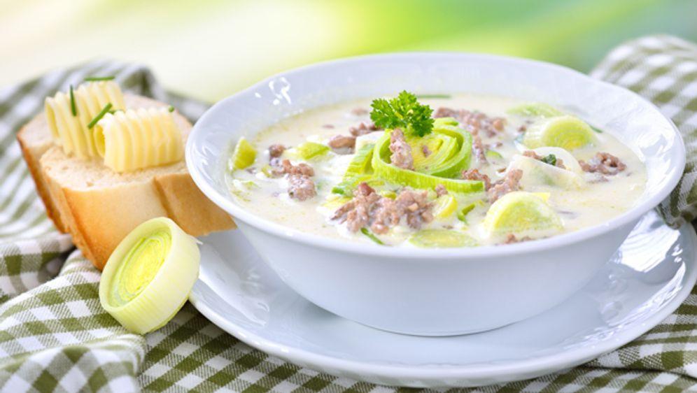 Käse-Lauch-Suppe mit Hackfleisch - SAT.1 Ratgeber