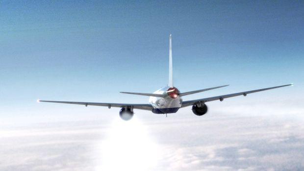 Januar, 2008: Nach einem Flug von Beijing, macht sich der British Airways Flu...