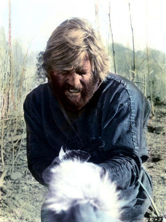 Jeremiah Johnson (Robert Redford) hat in der Wildnis allerlei Gefahren zu bewältigen. - Bildquelle: Warner Bros. Pictures