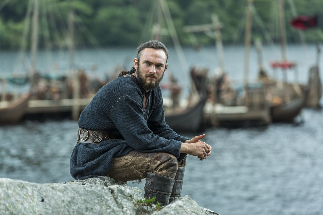 Judith wird, nachdem sie das Kind von Athelstan (George Blagden) zu Welt gebracht hat, für ihren Ehebruch an ihren Mann schuldig gesprochen. Ihr sol... - Bildquelle: 2015 TM PRODUCTIONS LIMITED / T5 VIKINGS III PRODUCTIONS INC. ALL RIGHTS RESERVED.