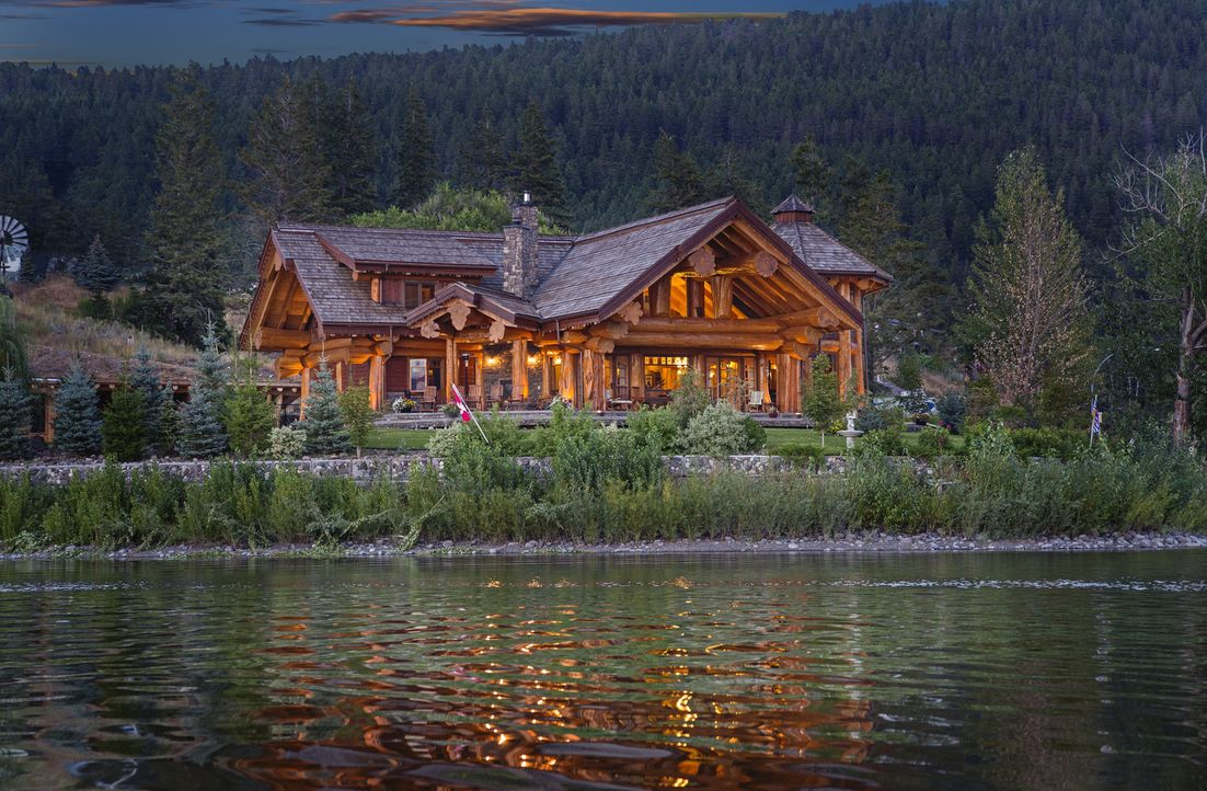 (1. Staffel) - Häuser ganz aus Holz können wahre Meisterwerke sein. Timber Kings zeigt die spektakulärsten Bauten ... - Bildquelle: Paperny Entertainment 2014