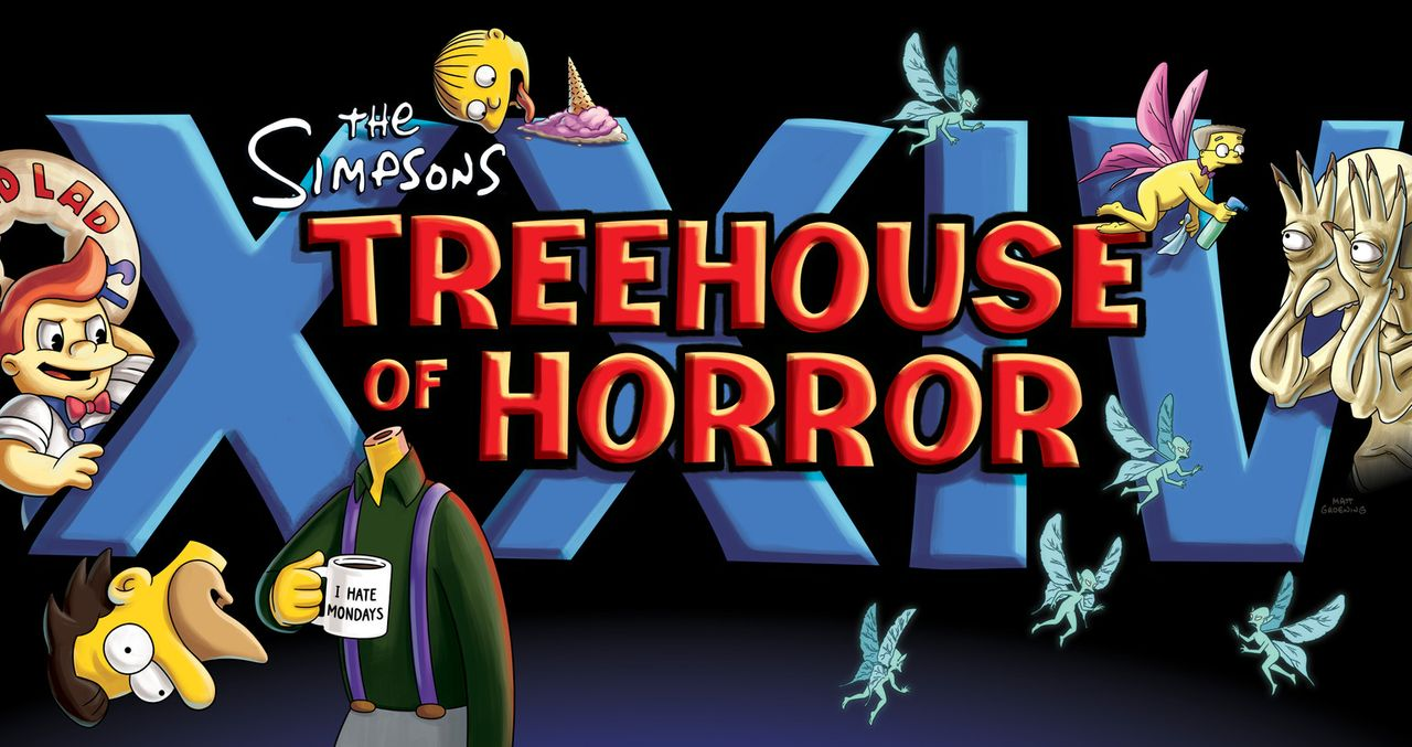 Treehouse of Horror XXIV - Logo - Bildquelle: 2013 Twentieth Century Fox Film Corporation. All rights reserved.