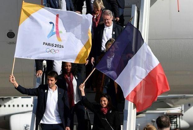 Paris freut sich auf die Olympischen Spiele 2024