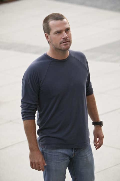 Bei den Ermittlungen in einem neuen Fall: Callen (Chris O'Donnell) ... - Bildquelle: CBS Studios Inc. All Rights Reserved.