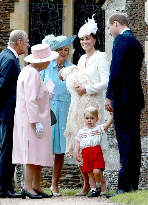 Taufe-Prinzessin-Charlotte-15-07-05-01-AFP - Bildquelle: AFP