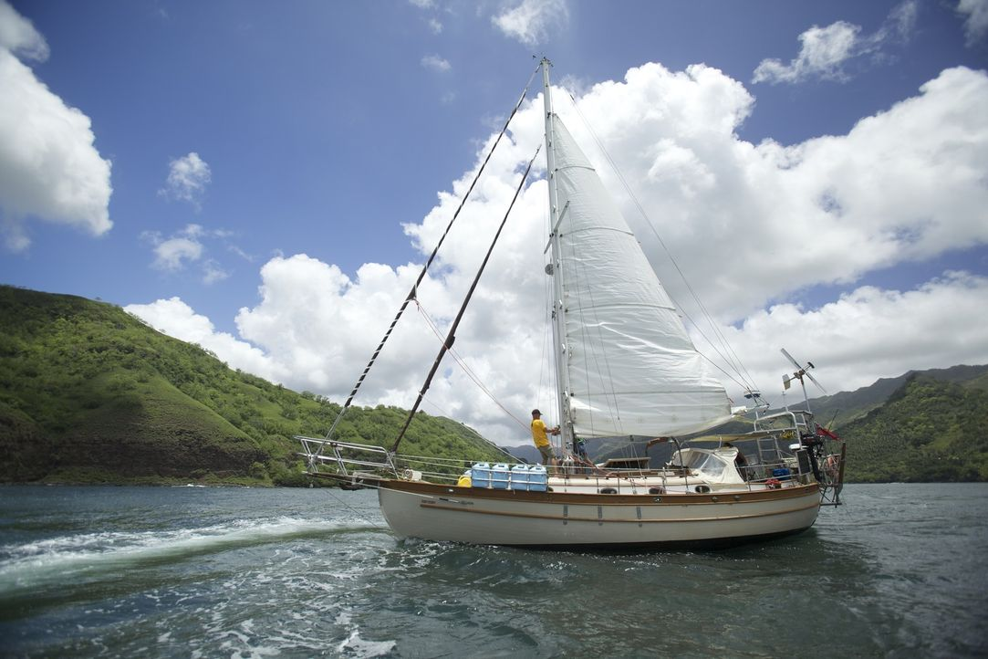 Die beiden Auswanderer Rick (l.) und Jasna haben sich für ein Nomadenleben entschieden und segeln über die Gewässer des Archipels. Doch ist das Lebe... - Bildquelle: Renegade Pictures