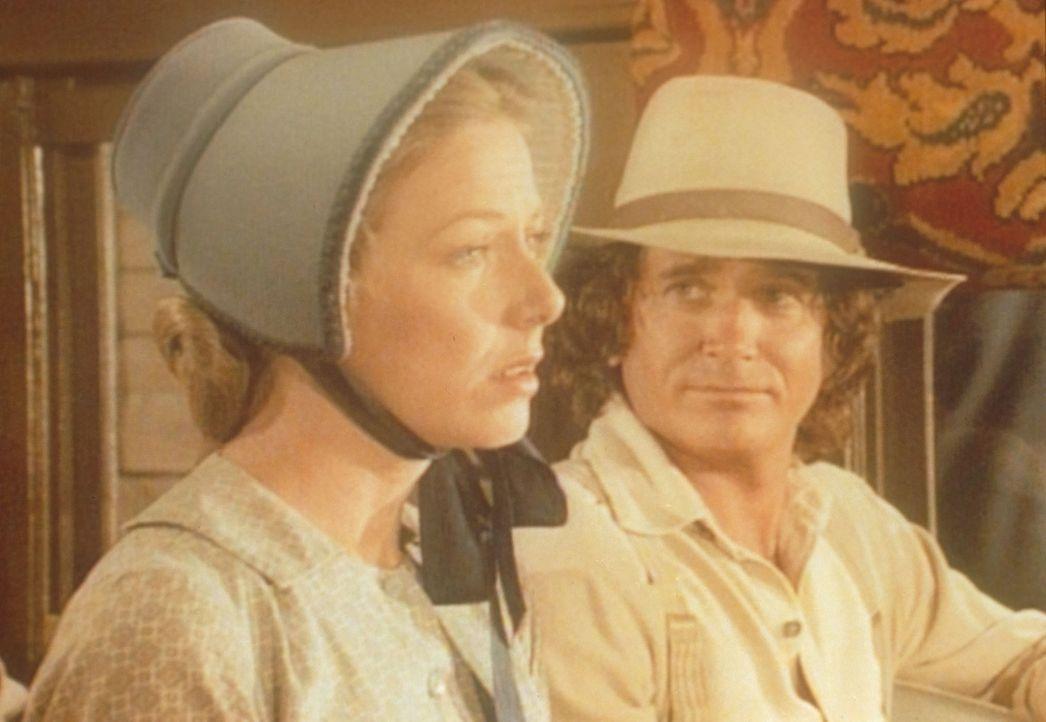 Caroline (Karen Grassle, l.) und Charles (Michael Landon, r.) machen sich große Sorgen um ihre Tochter Mary. - Bildquelle: Worldvision