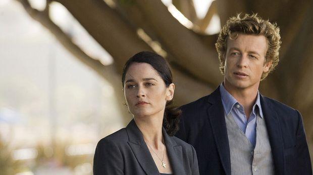 Ein neuer Mordfall beschäftigt Teresa Lisbon (Robin Tunney, l.) und Patrick J...