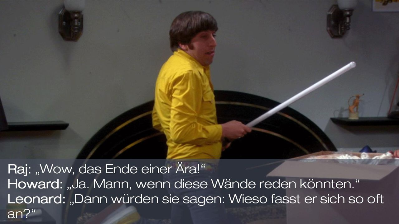 Staffel 6 Folge 7 - Zitat 8 - Bildquelle: Warner Brothers Television